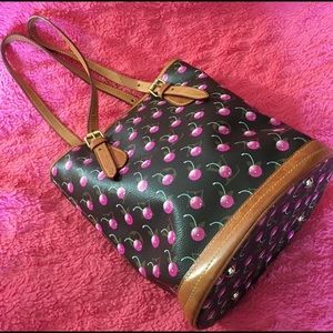 Bags - Cute cherry bucket purse!